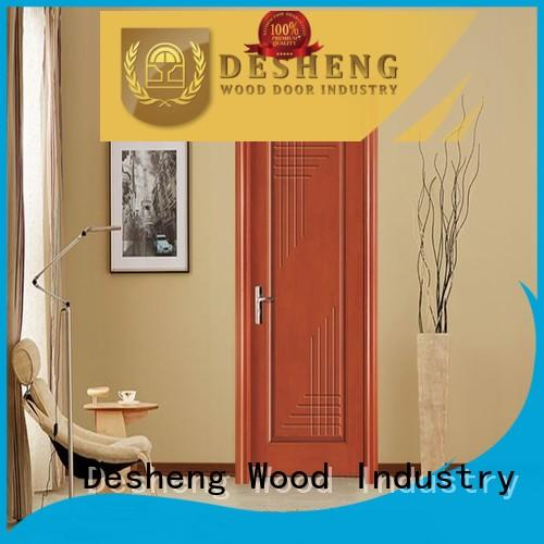 Desheng Wood Industry three stars fire rated wood doors online for villa