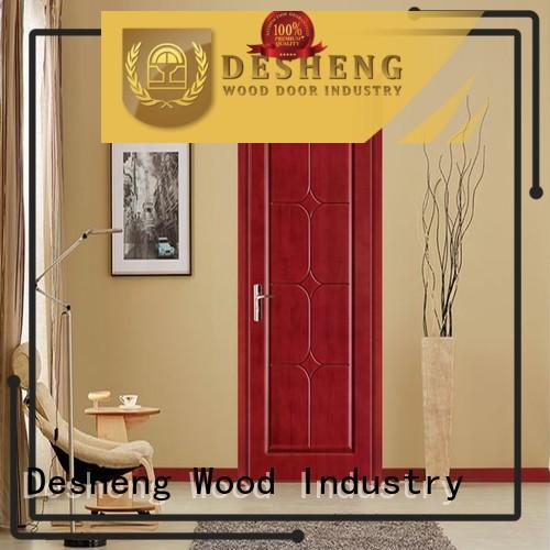 Desheng Wood Industry luxury fire rated doors manufacturers water proof for hotel