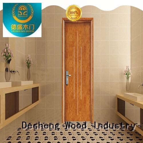 Desheng Wood Industry impression modern composite doors mediterranean toilet door for hotel