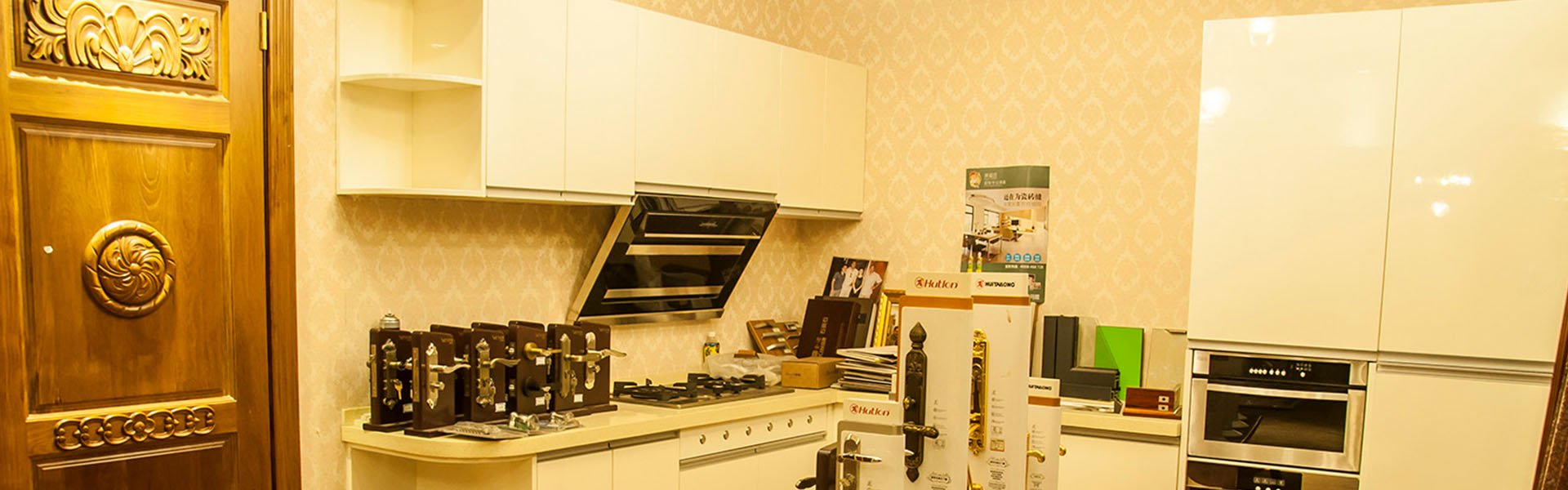 Solid wood kitchen cabinets-Desheng Wood Industry