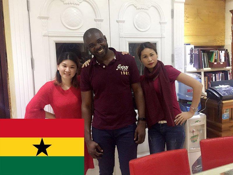Ghana customers
