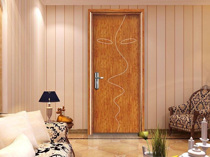 Modernist surrealism Picasso figure painting decorative MDF door  DS-M48