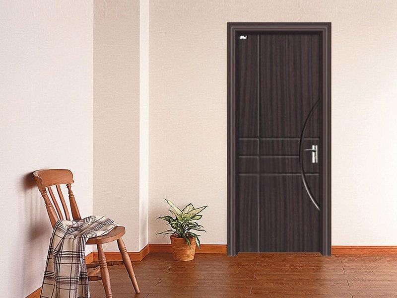 Planet Trails design PVC door  DS-V27