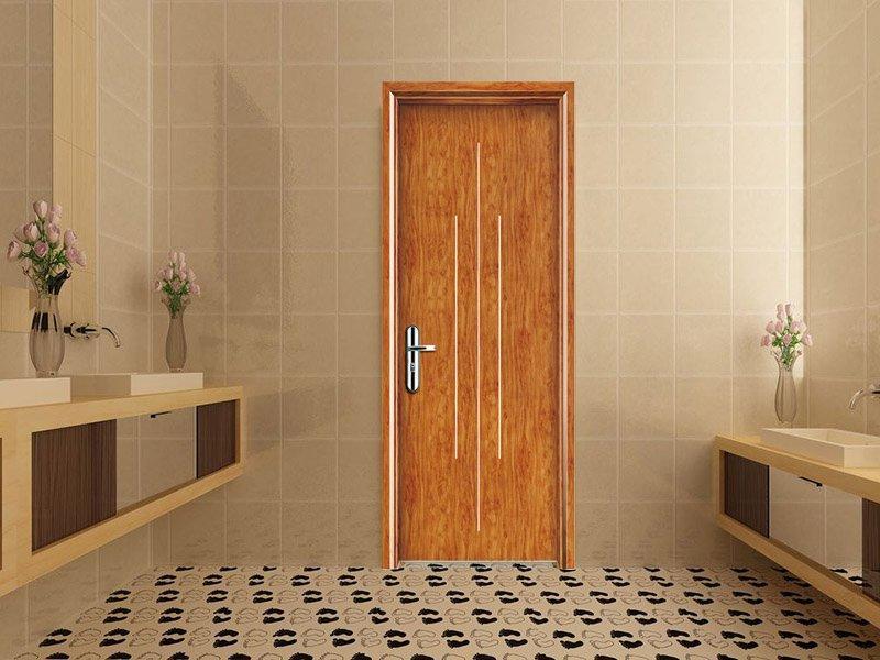 Commercial flash WPC door DS-W37