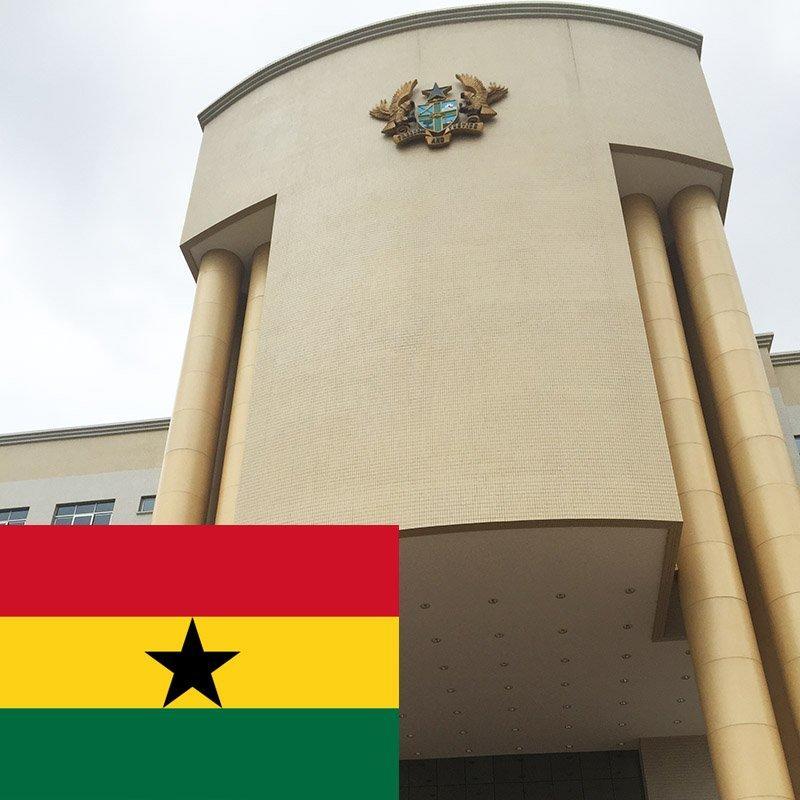 Ghana court project