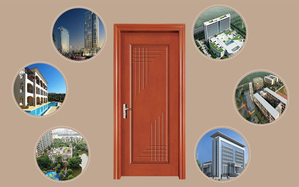 Desheng Wood Industry-Groined Type Decorative Fire Rated Door Ds-7626 | Fire Rated Doors-12