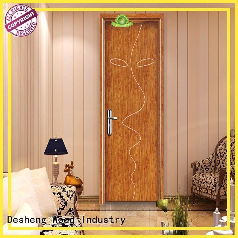 melamine doors for hotel Desheng Wood Industry