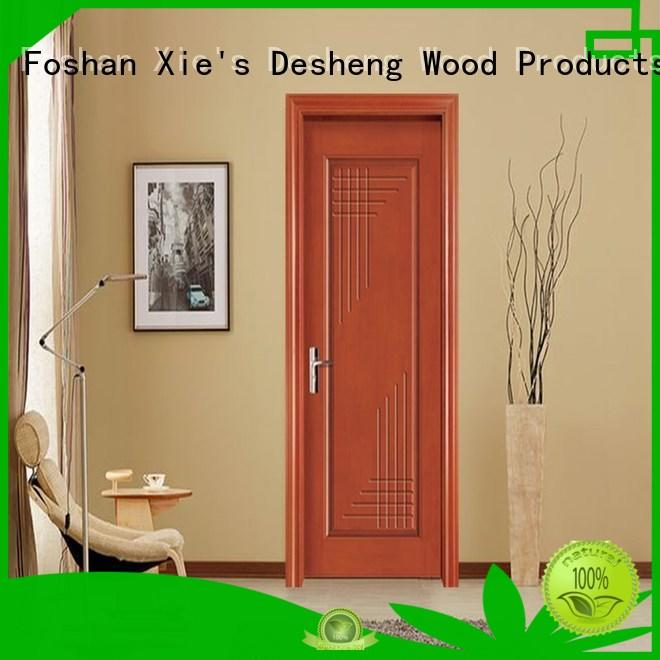 decorative fire rated wood doors water proof for office