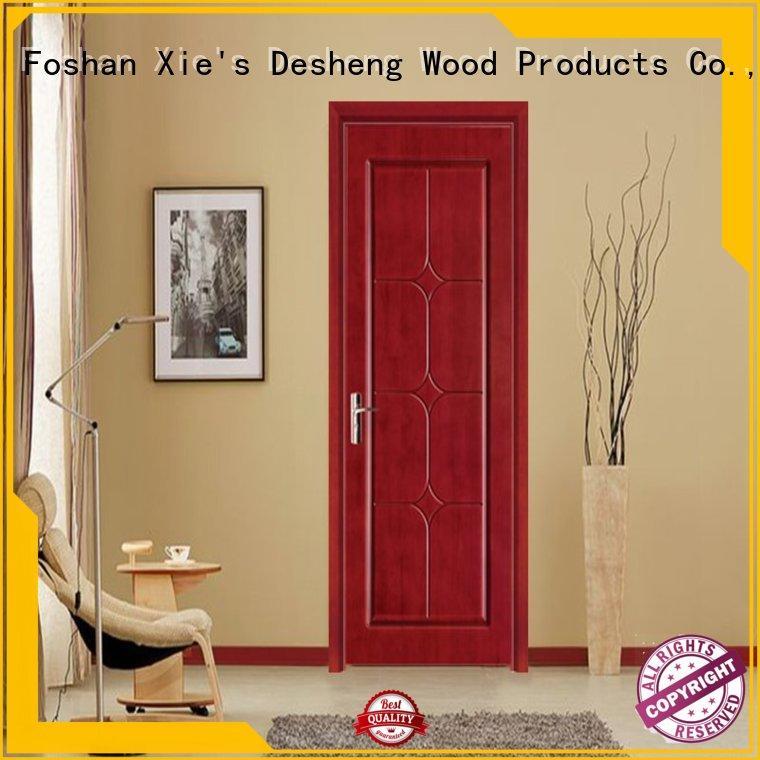 Desheng Doors decorative fire rated doors supplier for office