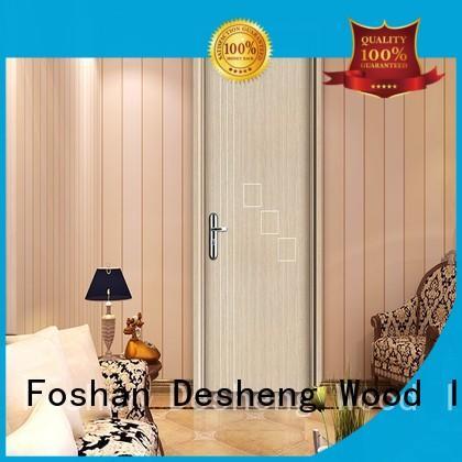 Desheng Wood Industry mdf door frames manufacturer for hospital