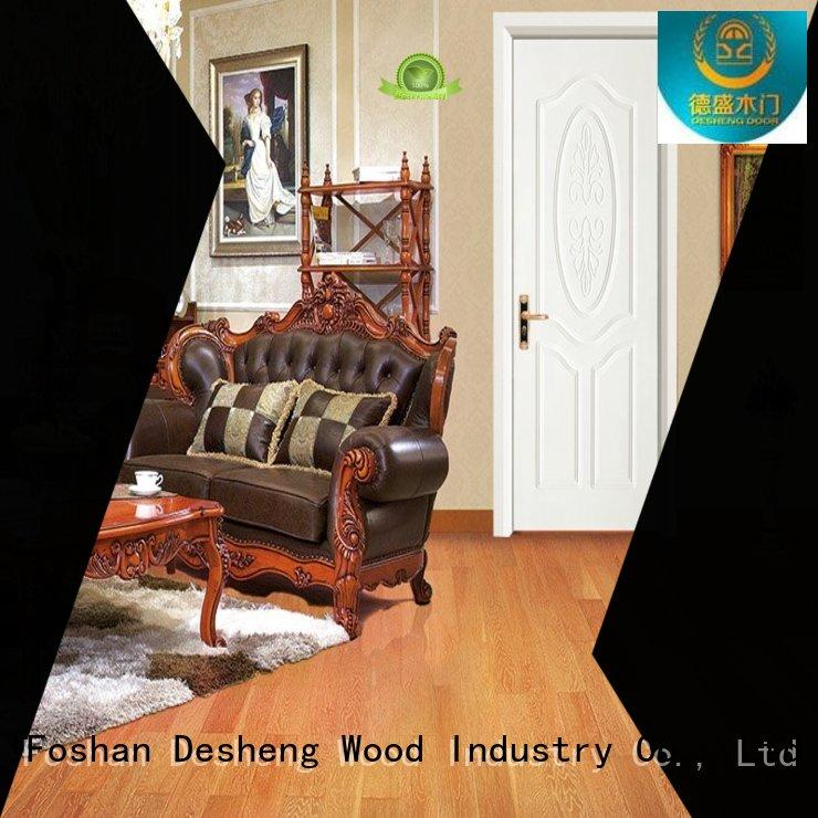 solid wood entry doors supplier for sale Desheng Wood Industry