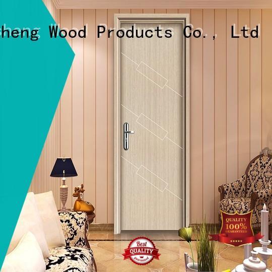 Desheng Doors rectangular melamine doors supplier for hospital