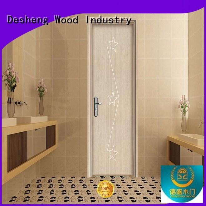 pattern wpc door frame supplier for hotel