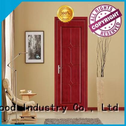 Desheng Wood Industry high quality fire rated doors with printing for school