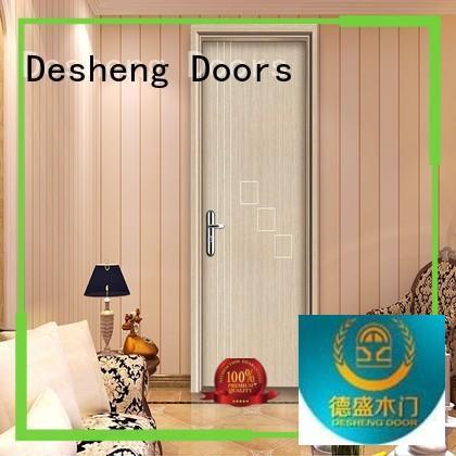 Desheng Doors mdf doors prices manufacturer for hotel