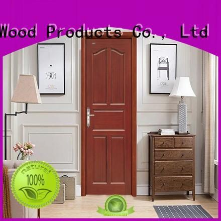 Desheng Doors french hdf door skin toilet louver door for restroom