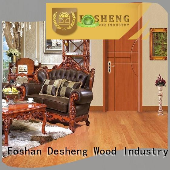Desheng Wood Industry rosewood solid wood entry doors online for house