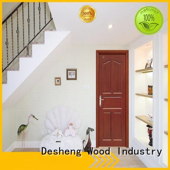 Desheng Wood Industry stitching plywood door design supplier for hotel