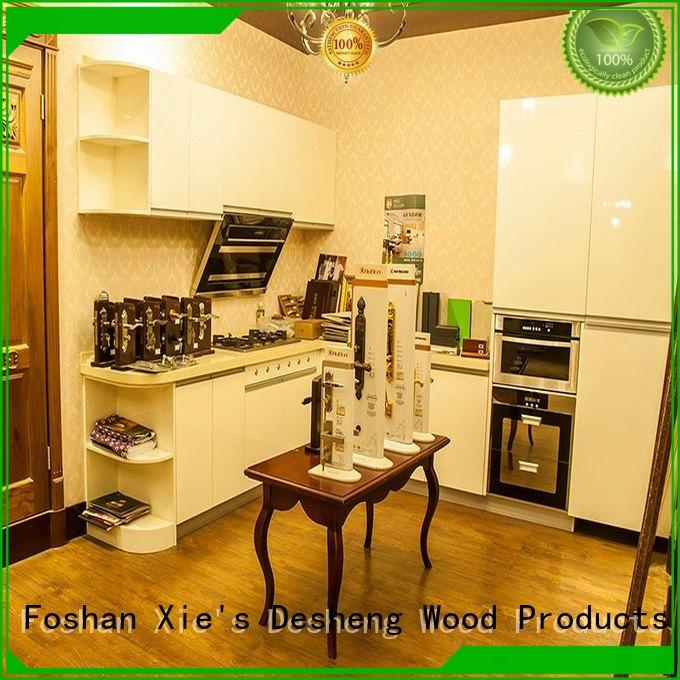 colorful grey wood kitchen cabinets supplier for sale