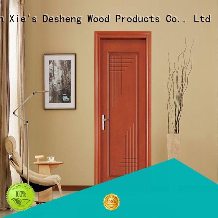 Desheng Doors fire rated wood doors water proof for school