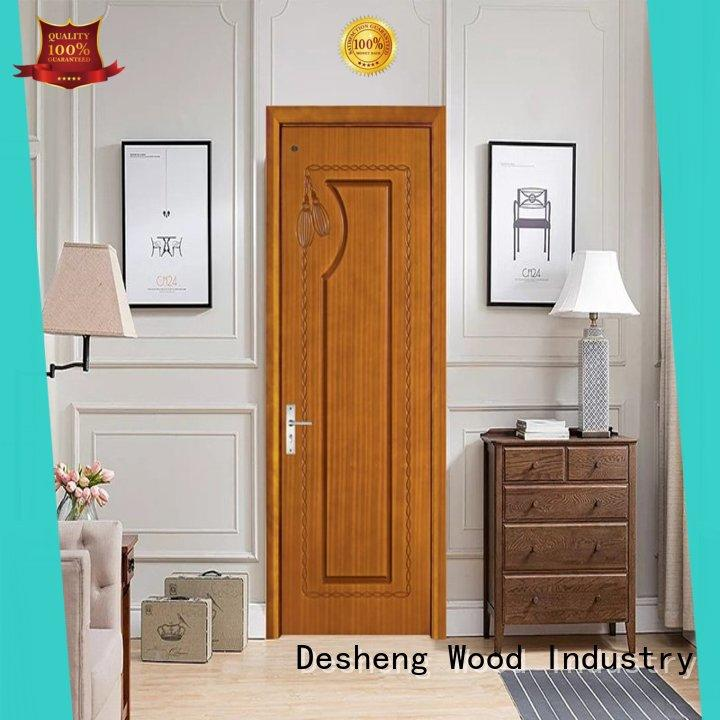 Desheng Wood Industry hdf door residence door for bathroom