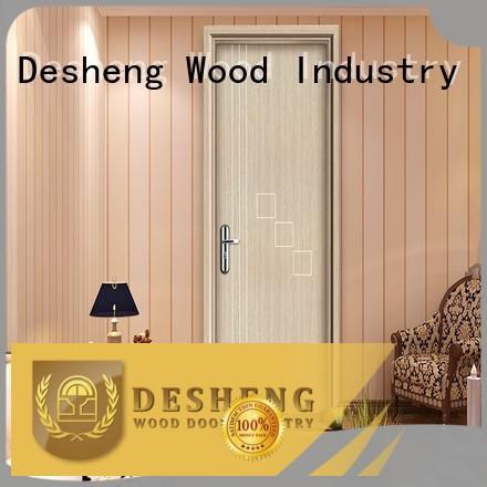 modernist melamine cabinet doors online for hotel Desheng Wood Industry