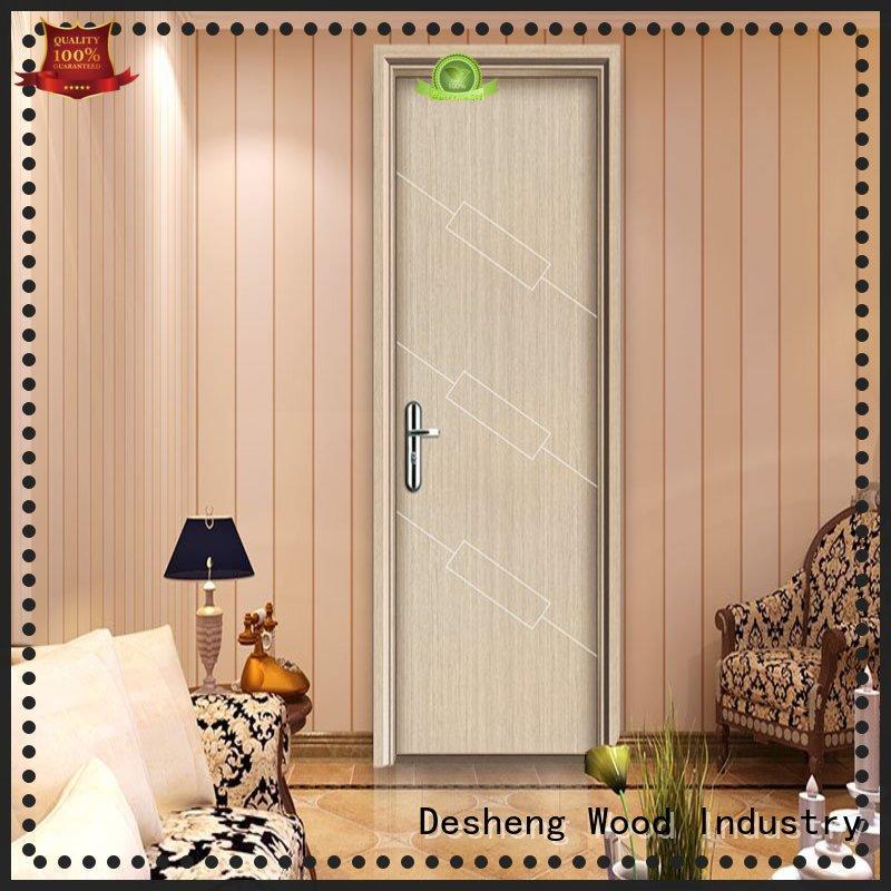 Desheng Wood Industry modernist melamine kitchen doors full seal edging for hotel
