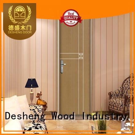 Desheng Wood Industry passway mdf door frames manufacturer for hospital