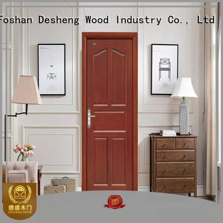 Desheng Wood Industry Brand design wood composite custom hardboard doors