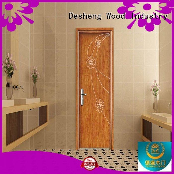 Desheng Wood Industry pattern composite garage doors for sale