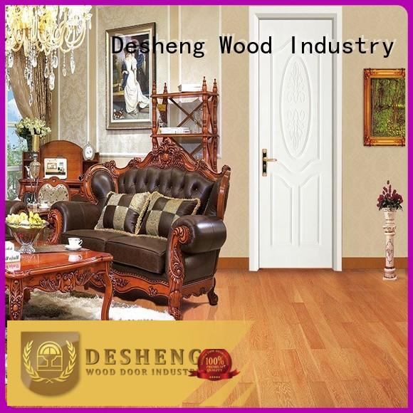 Desheng Wood Industry solid wood kitchen doors supplier for hotel