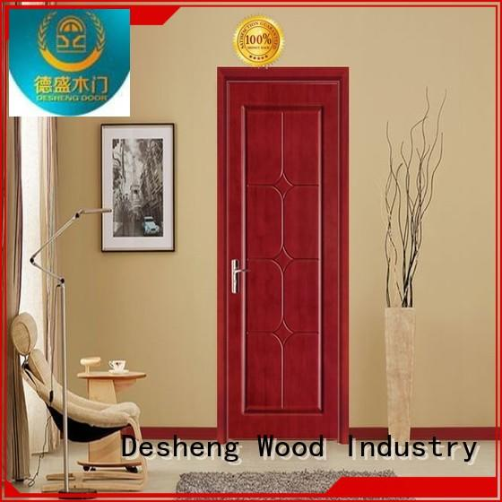 groined fire rated doors manufacturers type decorative Desheng Wood Industry company