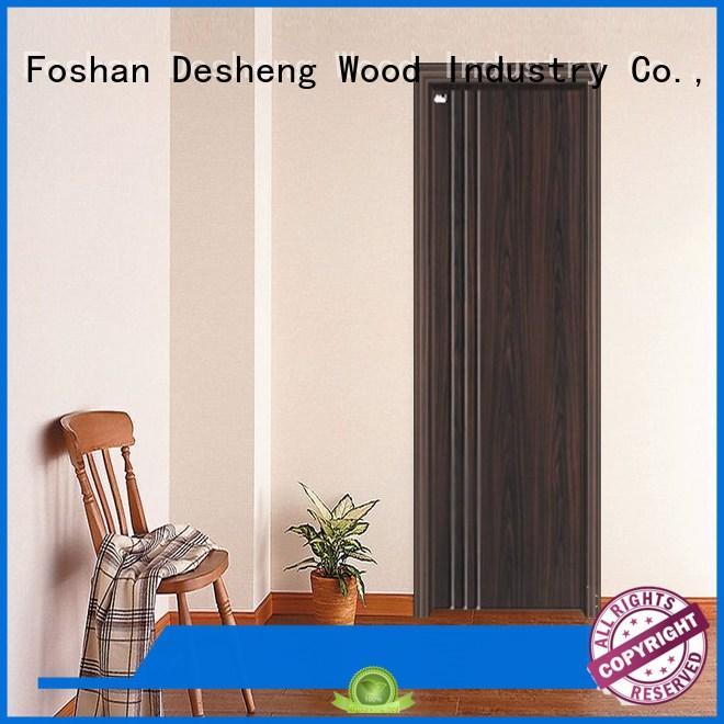 Desheng Wood Industry curved pvc door manufacturers for villa