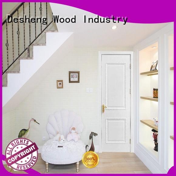 Desheng Wood Industry plywood flush door supplier for office