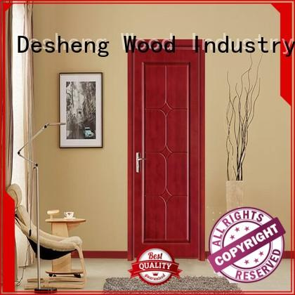 Desheng Wood Industry decorative fire rated wood doors online for villa
