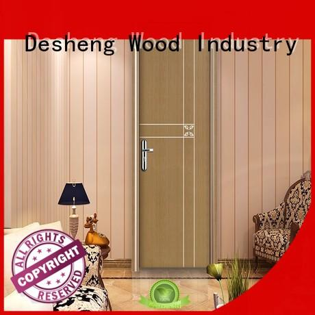 decorative molded doors full seal edging for office