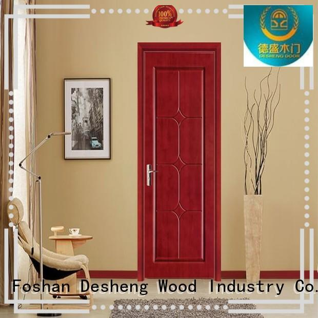 3 stars decorative fire rated door  DS-7638