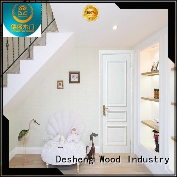Desheng Wood Industry golden plywood doors price thicker plywood for villa