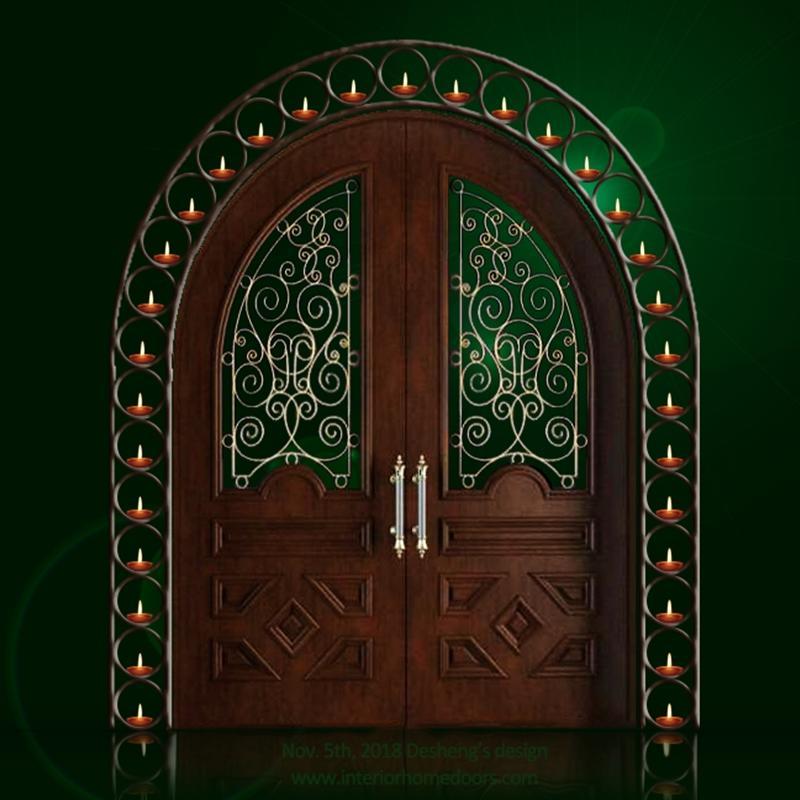solid wood front door prices-Desheng Wood Industry
