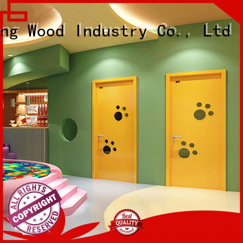 Desheng Wood Industry american hardboard door office door for living room