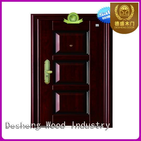 Desheng Wood Industry security decorative metal doors for countryard