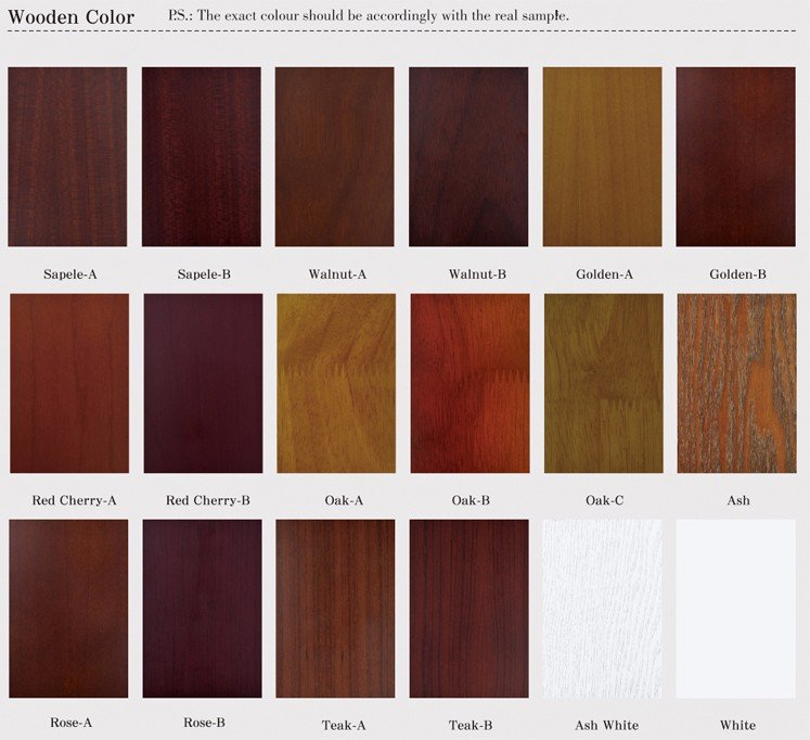 Desheng Wood Industry-Polished Brass Studded Frosted Glass Door | Wood Door With Glass-16