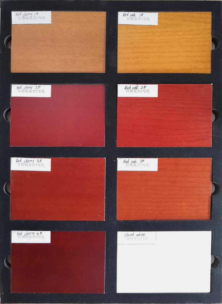 Desheng Wood Industry-Ds-fl04 Vertical Wood Grain Flush Door Design | Hdf Doors-3