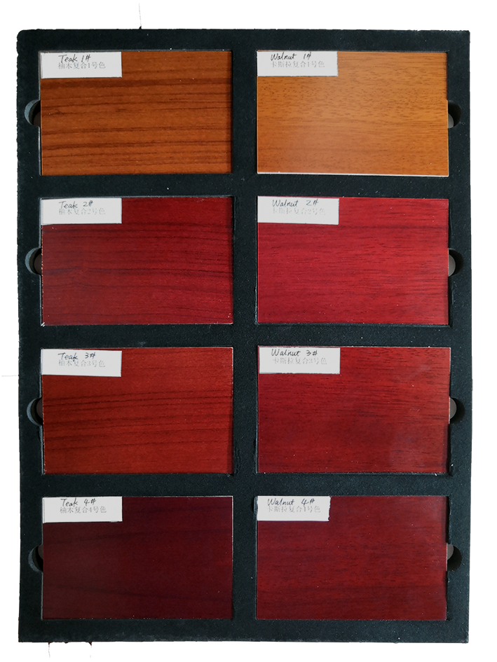 Desheng Wood Industry-High-quality Ds-fg06 Teak Wood Veneered Door With A Long Glass-1
