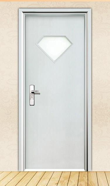 DS-FG03 diamond tempered glass hot sale office door