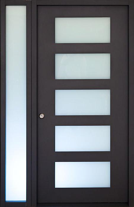 Desheng Wood Industry-Ds-fg05 American Walnut Veneered Double Glazing Living Room-3