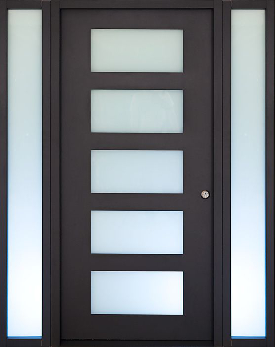 Desheng Wood Industry-Ds-fg05 American Walnut Veneered Double Glazing Living Room-4