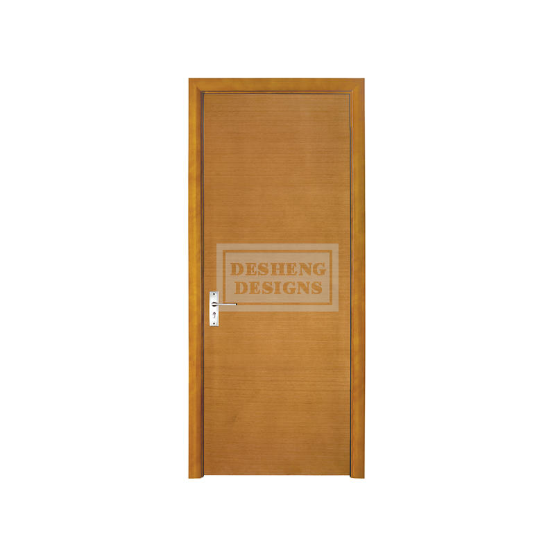 DS-FL05 Horizontal Wood grain flush doors
