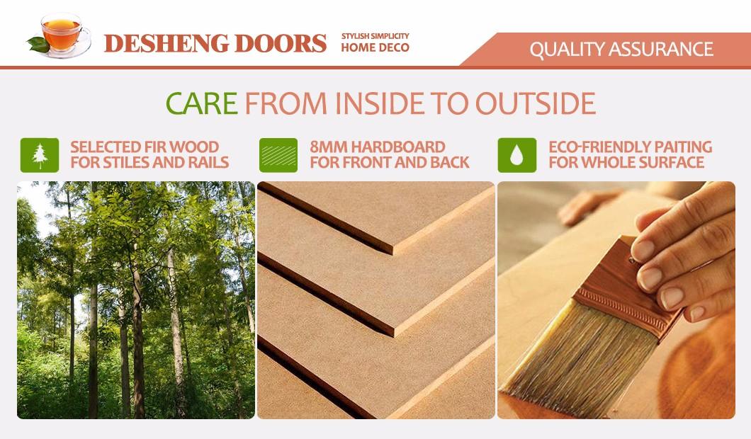 Desheng Wood Industry-Find Ds-fl05 Horizontal Wood Grain Flush Doors | Manufacture-5