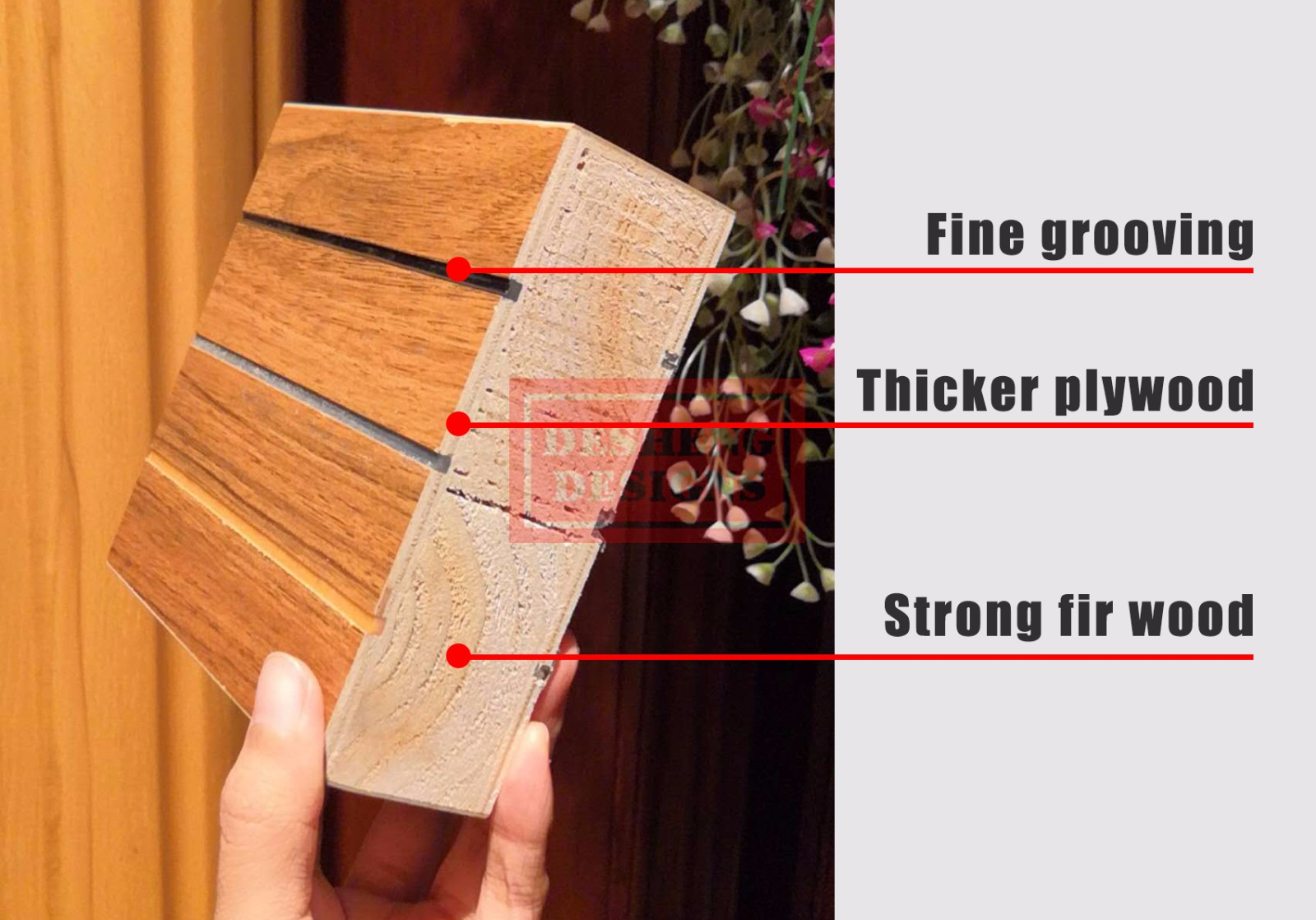 Desheng Wood Industry-Find Door Skin Plywood Seamless Stitching 3d Twilled Wood Grain Laminated-7
